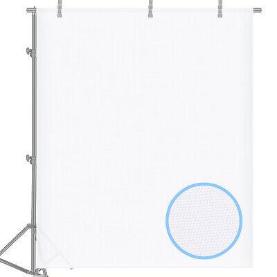 Neewer 2 Yard x 60 Inch/1.8M x 1.5M Polyester White Seamless Diffusion Fabric