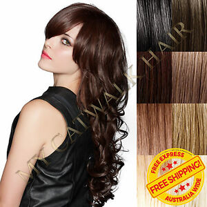 New-Micro-Bead-Remy-Human-Hair-Extensions-I-Tip-Extra-Thick-Black-Blonde-Brown