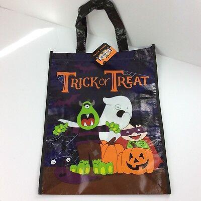 Cute Halloween Trick Or Treaters (Halloween Trick Or Treat Tote Bag Cute Monster Ghost Pumpkins Trick Or)