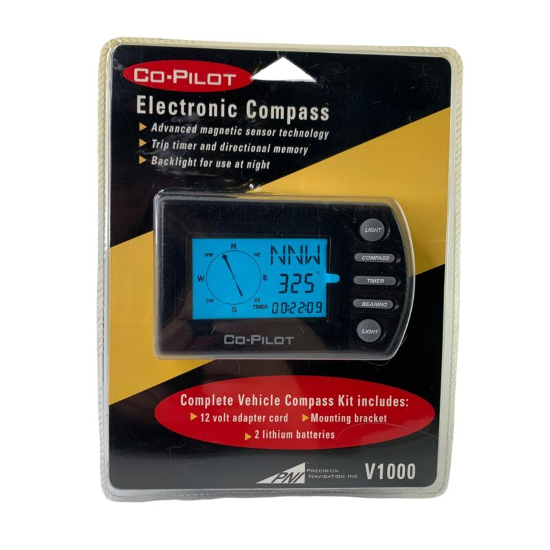 Electronic Compass PNI V1000 Digital Vehicle Compass KIT New Sealed