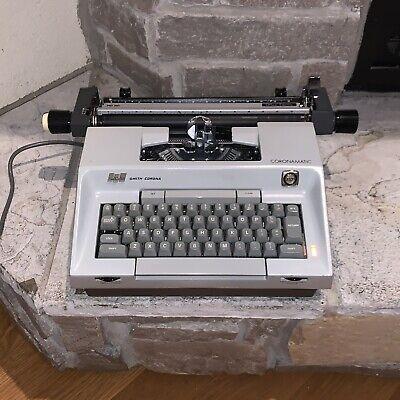 Working Smith-corona Coronamatic 7000 Office Electric Vintage Typewriter