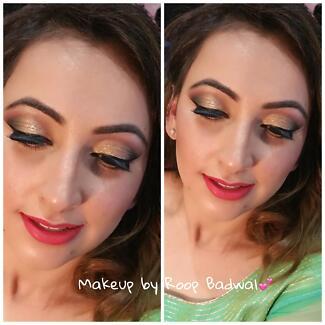 makeup artist and threader