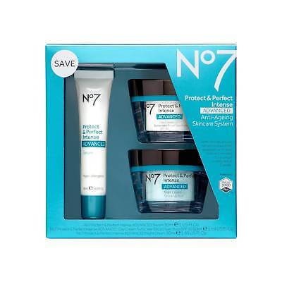 No7 Protect Perfect Intense Advanced Anti-Aging Skincare System exp:07/2019+