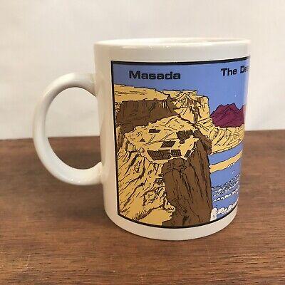 Masada - The Dead Sea - Ein. Gedi - Qumran Souvenir Coffee Cup Mug -