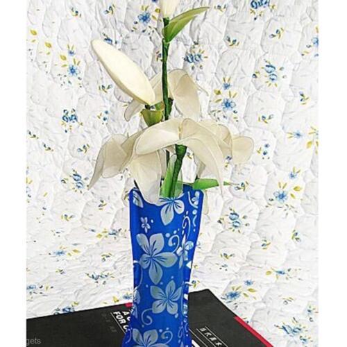 Creative diy party home decoration pvc plastic foldable - Jardiniere pvc blanc ...