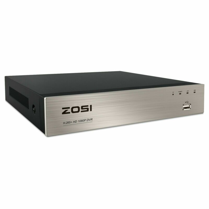 ZOSI 8 Channel H.265+ 5MP Lite DVR HD 1080p Recorder for Security Camera System