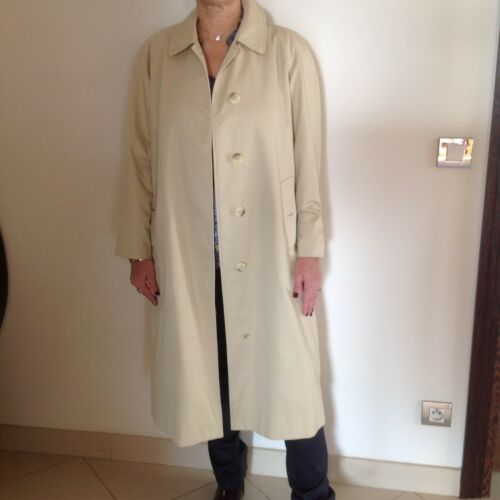 Imperméable trench burberry beige t.42