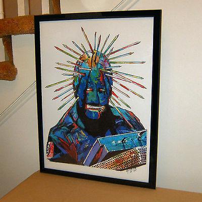 Craig Jones Slipknot Heavy Metal Music Poster Print Wall Tribute Art 18x24