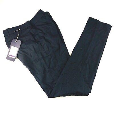 rag & bone Wool Black Grey Herring Grant Trouser Pants Men 29/30/31/32/33/34
