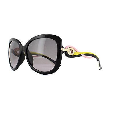Dior Sonnenbrille Dior Verdrehen Jxg Eu Schwarz Rosa Gelb Grau Farbverlauf