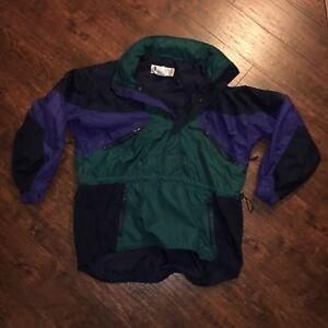 Columbia Sportswear Jacket Half Zip Windbreaker Mens XL
