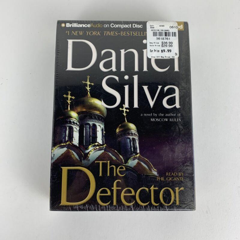 Gabriel Allon Ser.:The Defector by Daniel Silva (2009, Audio 9 Compact Disc) NEW