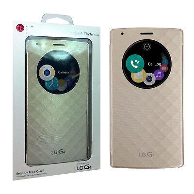 LG Quick Circle Ultra-Slim Hard Shell Battery Cover Snap On Folio Case For LG G4 comprar usado  Enviando para Brazil