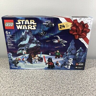 LEGO Star Wars Advent Calendar 24 Gifts Minifigs Kit Set Christmas 75279 - NEW