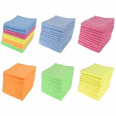Large Microfibre Cleaning Cloths Home Kitchen Car Valeting Dusters Polishing