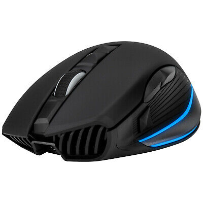 Wireless Optical Gaming Mouse or USB Wired, Rechargeable, 10000 DPI, 7-Color LED