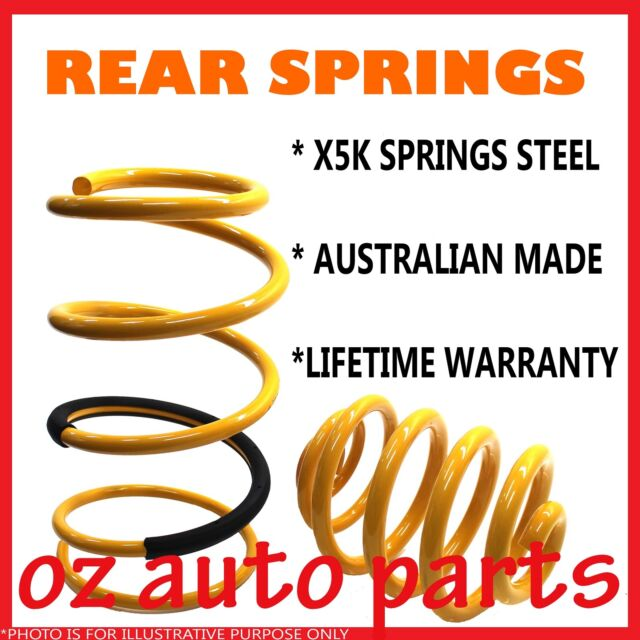 VE COMMODORE UTE SUPER LOW 50mm LOWERED REAR COIL SPRINGS
