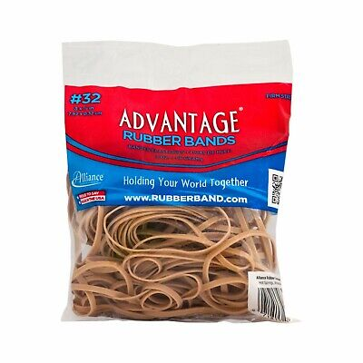 Advantage Rubber Bands Large Size 32 3 X 18 Heavy Duty Made In Usa