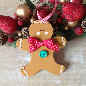 Wooden Christmas Cookie Gingerbread Man Christmas Tree ...