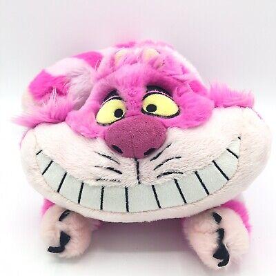 "Disney Store Exclusive Cheshire Cat Plush Alice Wonderland Stuffed Toy 15"""