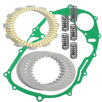 Clutch Friction Plates W/Gasket Kit for Yamaha XVS650 V-Star 650 Classic 98-10