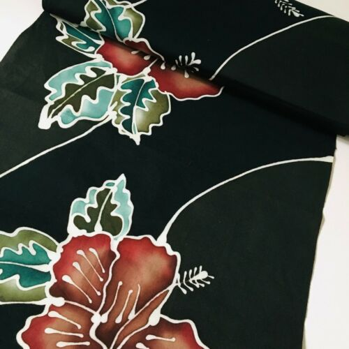 Morning Glory #B BY THE YARD Cotton Bolt Japanese Kimono Fabric Authentic BCA1