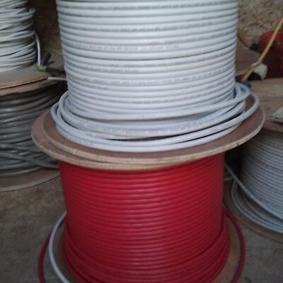 Cat6 shielded 23 gauge cable wire telecom bare copper 50ft+ or custom length
