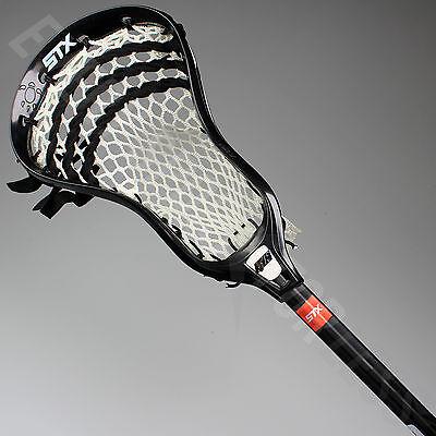 NEW STX K18 U Complete Mens Attack Lacrosse LAX  Stick - Black Lists @ $60