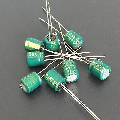 50pcs 33uf 35v Sanyo 6x7mm 35v33uf Electrolytic Capacitor