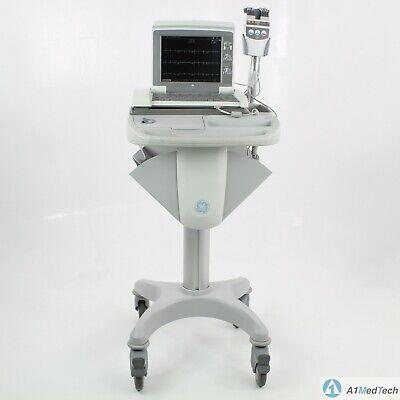 Ge Mac5500 Ecg Machine With Cam14 Acquisition Module Ecg Leads Cart