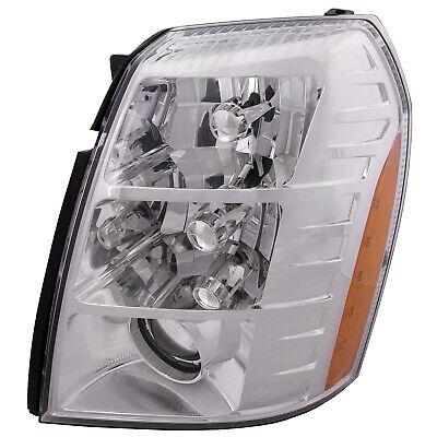 Driver Left Headlight Assembly Fits 2007-2009 Cadillac Escalade HID Sedan