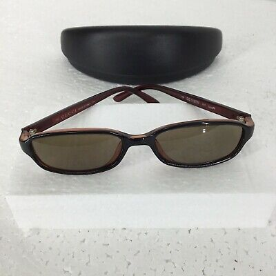 Vintage Genuine GUCCI Eyeglasses Frame GG1197/N 3XX Black Red YK88