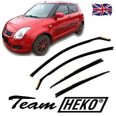SUZUKI SWIFT 3doors hatchback 2005-2010 wind deflectors 2pc set HEKO RAIN GUARDS
