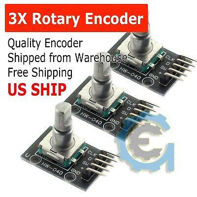 3x Rotary Encoder Module Brick Sensor Development Board For Arduino