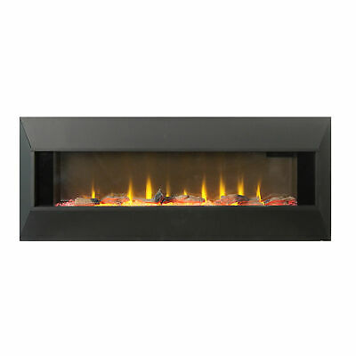 Lifesmart HW93233SMQR 42 Inch Infrared Wall Mount Electric Fireplace, covid 19 (Electric Infrared Wall coronavirus)