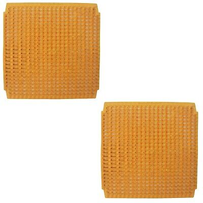 2 Pack Of Washable Poly Nesting Box Pad Mat Bottom For Chicken Coop Poultry Nest