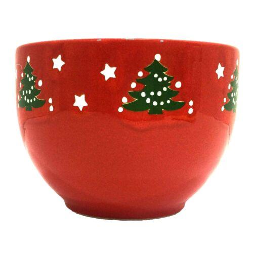 "Waechtersbach Christmas Tree Soup Bowl Larger Deeper 5"" x 3 5/8"" Vintage Germany"