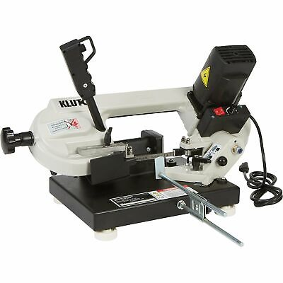 Klutch Benchtop Metal Cutting Band Saw - 3in. x 4in., 1 1/3 HP, 120V