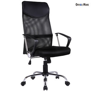 office chair material. black ergonomic mesh executive swivel computer desk office chair with high back material c