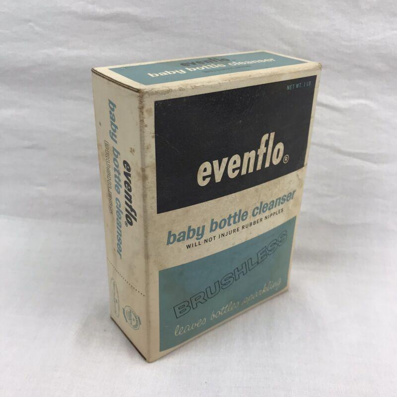 Vtg 1964 Evenflo Baby Bottle Cleaner Burshless - UNOPENED -Pyramid Rubber Co.
