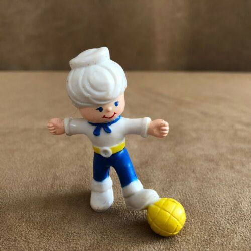 Remco Life Savers Mike E Mint playing ball action Figure PVC 1981 vintage