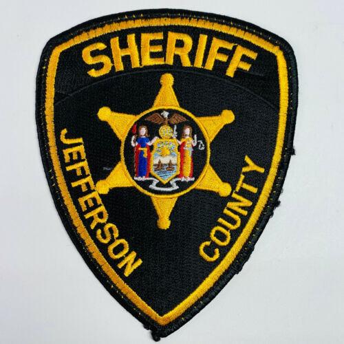 Jefferson County Sheriff New York NY Patch (A4)