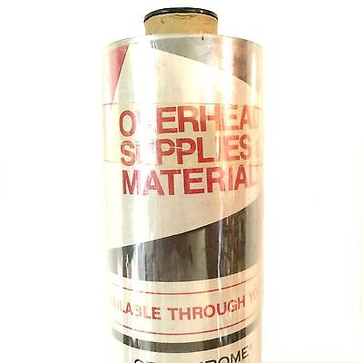 Avcom 10-14 X 50 Overhead Transparency Film Roll For 3m Dalite Eiki Dukane