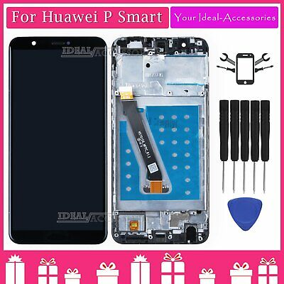 For Huawei P Smart FIG-LX1 Black Assembly LCD Touch Screen Digitizer Replacement
