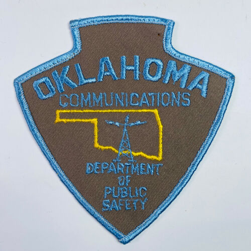 Communications Oklahoma Department of Public Safety Patch