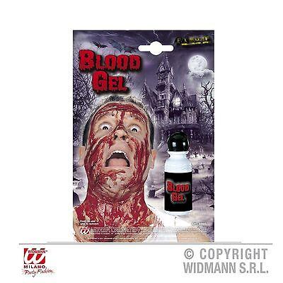Kunstblut Blutgel Kostüm Blut Makeup für F/X special effects Fasching Karneval ()