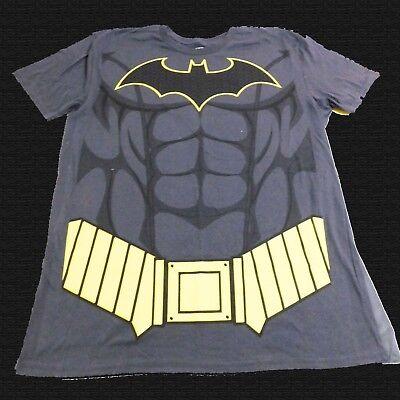 DC Comics Batman Men's Costume T-shirt for Halloween (SIZE: XLarge or XXLarge)