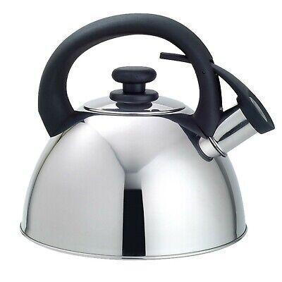 Tetera Acero INOX 2.5L Para cocinas: vitrocerámica, gas, eléctrica e inducción.