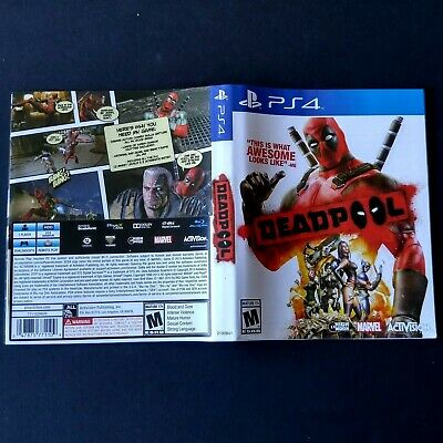 (ARTWORK ONLY) (NO GAME) PS4 - Deadpool