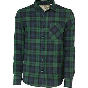 Flannel shirt ebay for Black watch flannel shirt